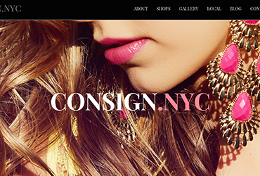 nyc new york web designer developer consign.nyc
